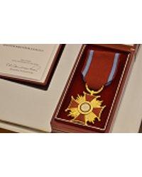 Złoty Krzyż Zasługi dla właściciela firmy - zdjęcie