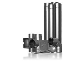 Systemy kominowe - wkłady kominowe - zdjęcie
