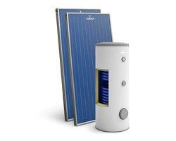 Zestaw solarny z kolektorami miedzianymi Premium Standard - zdjęcie