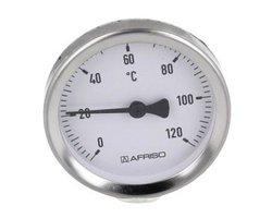 Termometr bimetaliczny przylgowy ATh 63 F - zdjęcie