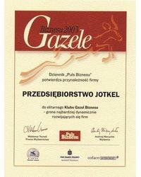 Gazele Biznesu 2003 - zdjęcie