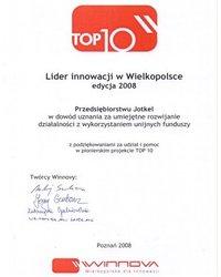 JOTKEL wybrany Liderem innowacji w Wielkopolsce - zdjęcie