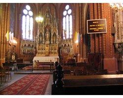 Wyświetlacze tekstów, Ekrany diodowe LED do kościoła - zdjęcie