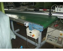 Taśmociąg prosty na podstawie - TTW-THERMOTECHNIK , dł.3,5m , r.2001 - zdjęcie