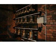 Carillony (dzwony carillonowe), carillonowe konstrukcje wieżowe, automatyka do carillonów - zdjęcie