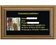 Multimedialna tablica ogłoszeń USB/WiFi - zdjęcie