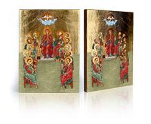 Ikona Zesłanie Ducha Świętego - zdjęcie