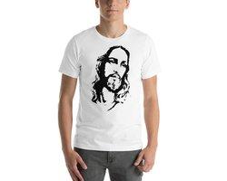 Koszulka chrześcijańska z wizerunkiem Jezusa - zdjęcie