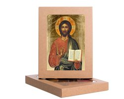 Ikona Chrystus Pantokrator Nauczyciel - zdjęcie