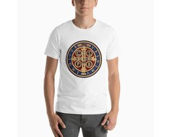 Koszulka religijna Medal świętego Benedykta - zdjęcie