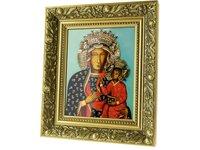 Obraz ceramiczny Matka Boża Częstochowska - zdjęcie