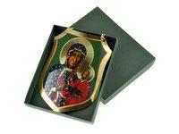 Ryngraf z wizerunkiem Matki Bożej Częstochowskiej - zdjęcie