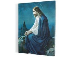 Jezus Chrystus w Ogrójcu, obraz na płótnie canvas - zdjęcie