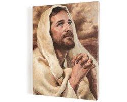 Jezus Chrystus, obraz na płótnie canvas - zdjęcie
