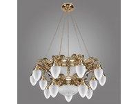 Seria lamp OURO – mosiężne żyrandole, kinkiety, plafoniery - zdjęcie