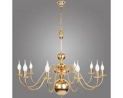 Seria lamp TORNO -  mosiężne żyrandole i kinkiety w stylu flamandzkim - zdjęcie