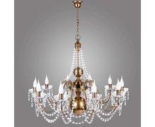 Seria lamp TOKANTI – kryształowe żyrandole i kinkiety w stylu flamandzkim - zdjęcie