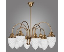 Seria lamp RINAMA – stylowe żyrandole, kinkiety i plafoniery w klasycznym stylu - zdjęcie