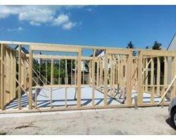 Projekty wykonawcze domów drewnianych i cięcie drewna konstrukcyjnego na wymiar - zdjęcie