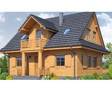 Domy z drewna - zdjęcie