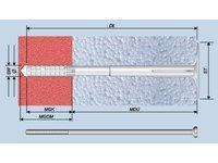 Łączniki fasadowe, kołki do mocowania styropianu i wełny mineralnej - zdjęcie