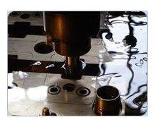 Cięcie, wycinanie drutem, elektroerozyjne, detali, elementów ze stali hartowanej, szybkotnącej, narzędziowej - zdjęcie
