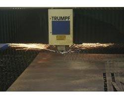 Wycinanie, cięcie, wykrawanie laserowe i piłą taśmową blachy rur, profili, kształtowników - zdjęcie