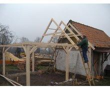 Konstrukcje drewniane - zdjęcie