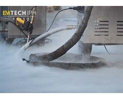 Alternatywa zamiast piaskowania, śrutowania, efekty czyszczenia suchym lodem - zdjęcie