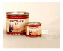 Szpachla dwuskładnikowa HOLZMASSE K2 - zdjęcie