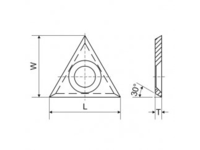 Nacinak trójkątny - zdjęcie