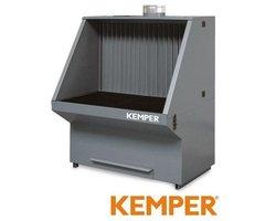 Stół szlifierski Kemper 1010x1060x1700 do podłączenia odciągu - zdjęcie
