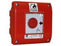 Ręczny ostrzegacz pożarowy zewnętrzny OP1-W02-A-V1-01 - zdjęcie