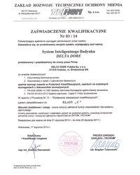 Certyfikat TECHOM - zdjęcie