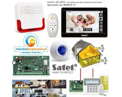 Systemy Alarmowe - Alertus RABAT 15-35% centrale alarmowe, manipulatory, GSM/GPRS, czujki, obudowy, osprzęt, akcesoria - zdjęcie