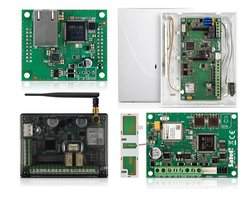Moduły komunikacyjne GPRS-A, INT-GSM, GSM-X, Moduł ethernetowy GSM-X-ETH - SATEL. Alertus RABATY 15-35% - zdjęcie