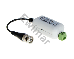 Separator galwaniczny z konwerterem UTP i zabezpieczeniem do AHD, HD-CVI, HD-TVI, HST-1F-EXT - zdjęcie