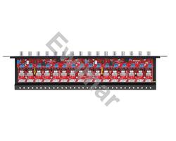 Zabezpieczenie przeciwprzepięciowe na koncentryk i skrętkę LHD-16R serii Extreme z dystrybucją zasilania - zdjęcie