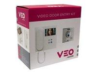 Wideodomofon 2/W COLOUR VDS VIDEO VEO KIT - zdjęcie