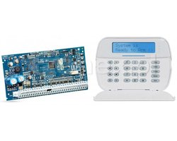 Zestaw centrala alarmowa z manipulatorem LCD HS2032 + HS2LCD DSC NEO - zdjęcie