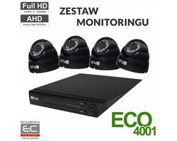 Zestaw do monitoringu AHD AHDECO4001 - zdjęcie