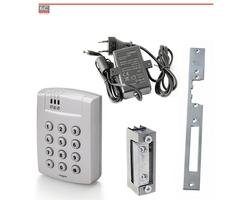 Kompletny, wandaloodporny zestaw kontroli dostępu na jedne drzwi KD-04 - zdjęcie
