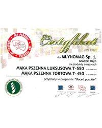 Certyfikat Doceń polskie - zdjęcie