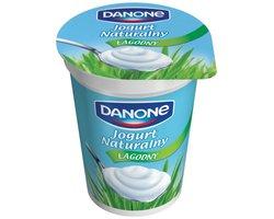 Jogurt Danone Naturalny ?agodny - zdj?cie