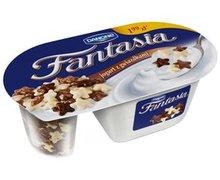 Jogurt Fantasia z dodatkami czekoladowymi - zdjęcie
