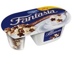 Jogurt Fantasia z dodatkami czekoladowymi - zdj?cie
