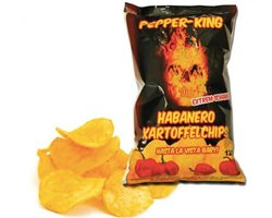 Chipsy Pepper King Habanero - zdjęcie