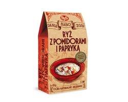 Dania Babci Zosi - Ryż z pomidorami i papryką - zdjęcie