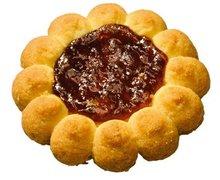 Ciastka z nadzieniem wiśniowym - zdjęcie
