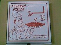 Karton do pizzy - zdjęcie